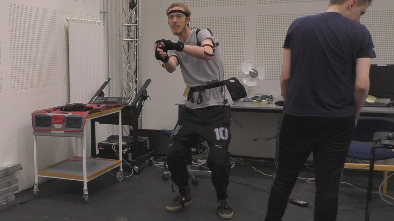 Image from our motion capture